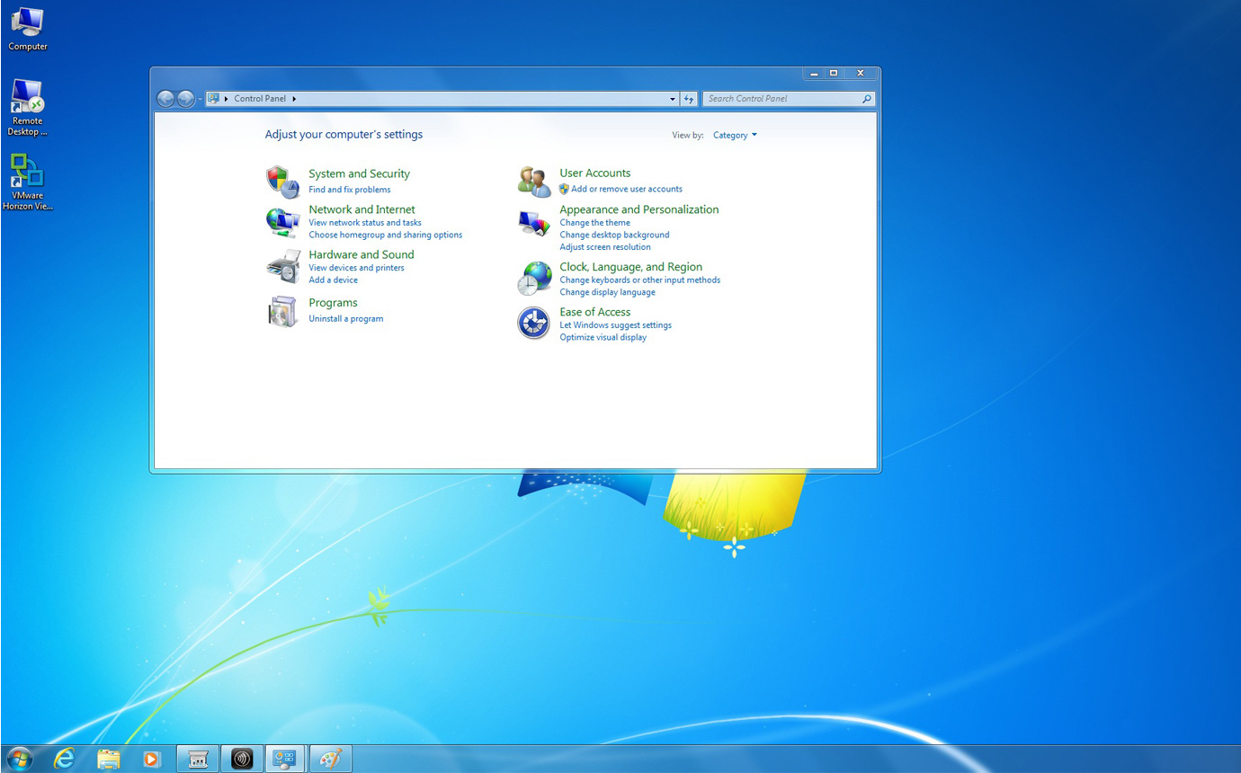 WES7 Operating System